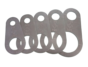 Plasma Stencil - Circle PRO upgrade - Cutter Guide Kit 5 pc.
